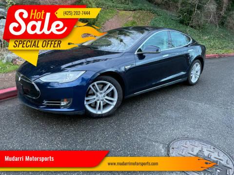 2013 Tesla Model S for sale at Mudarri Motorsports in Kirkland WA