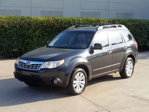 2012 Subaru Forester for sale at Auto Starlight in Dallas TX