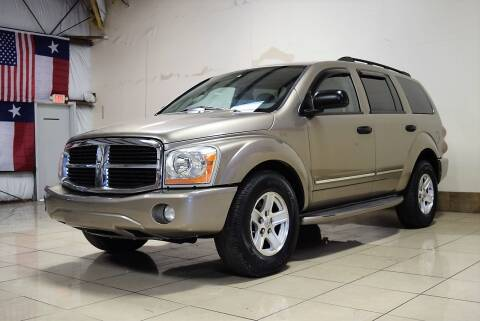 2004 Dodge Durango for sale at ROADSTERS AUTO in Houston TX