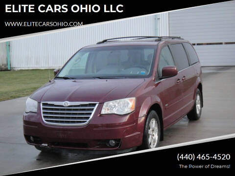 2008 Chrysler Town and Country for sale at ELITE CARS OHIO LLC in Solon OH