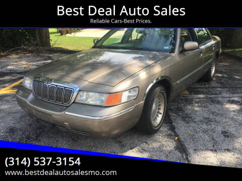 2002 Mercury Grand Marquis for sale at Best Deal Auto Sales in Saint Charles MO