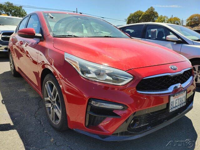 2019 Kia Forte for sale at Guy Strohmeiers Auto Center in Lakeport CA