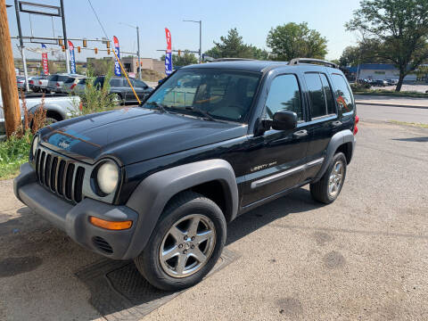 2003 Jeep Liberty for sale at Highbid Auto Sales & Service in Arvada CO