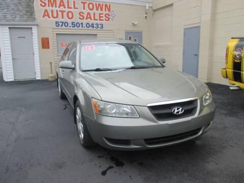 2008 Hyundai Sonata for sale at Small Town Auto Sales in Hazleton PA