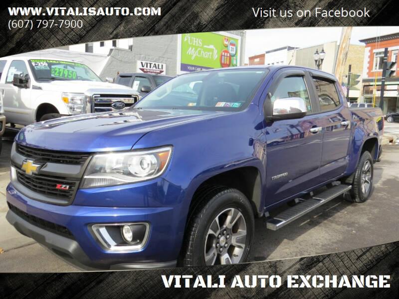 2016 Chevrolet Colorado for sale at VITALI AUTO EXCHANGE in Johnson City NY