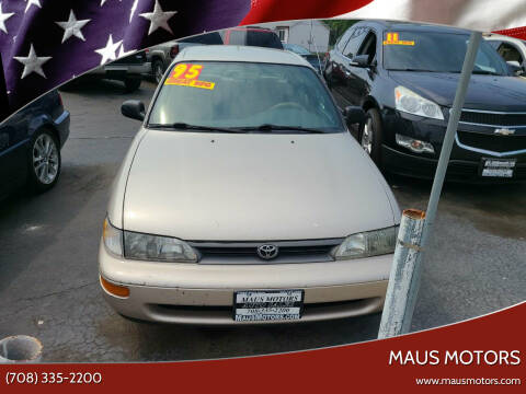 1995 Toyota Corolla for sale at MAUS MOTORS in Hazel Crest IL