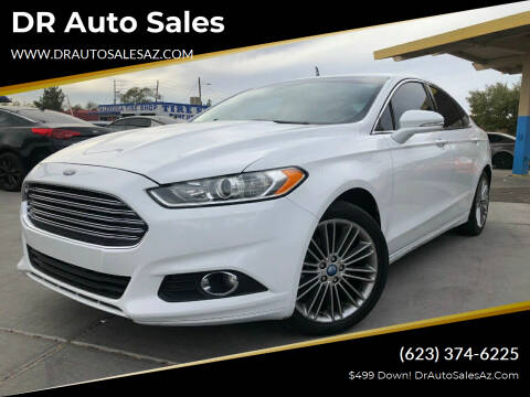 2013 Ford Fusion for sale at DR Auto Sales in Glendale AZ