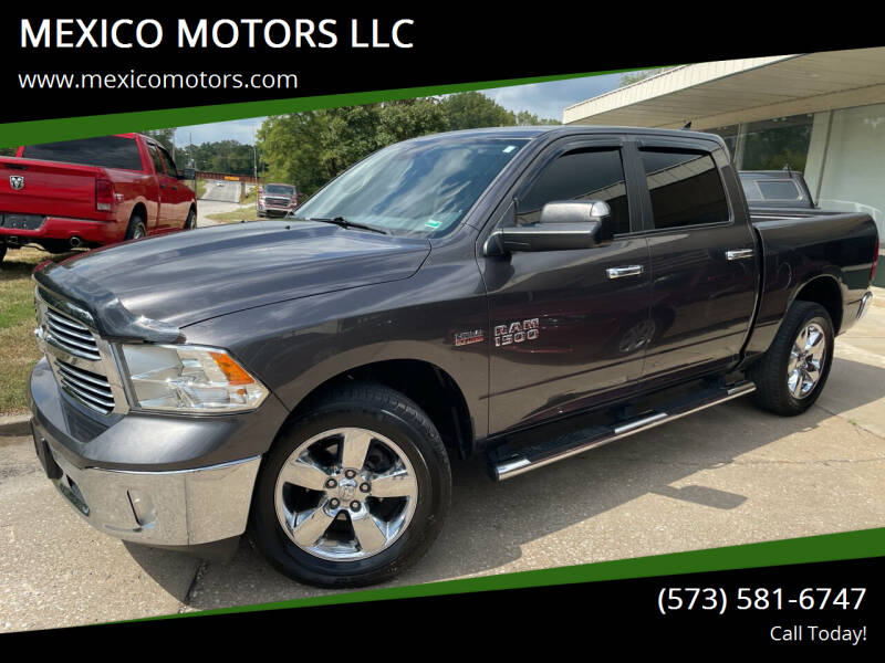 2015 RAM Ram Pickup 1500 for sale at MEXICO MOTORS LLC in Mexico MO