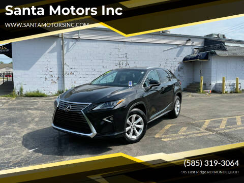 2016 Lexus RX 350 for sale at Santa Motors Inc in Rochester NY