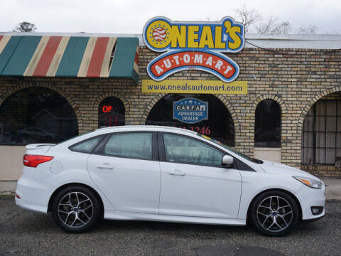 2015 Ford Focus for sale at Oneal's Automart LLC in Slidell LA