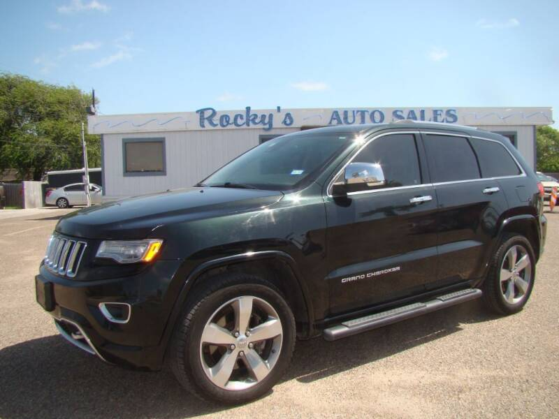 2014 Jeep Grand Cherokee for sale at Rocky's Auto Sales in Corpus Christi TX