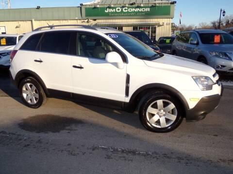 2012 Chevrolet Captiva Sport for sale at Jim O'Connor Select Auto in Oconomowoc WI