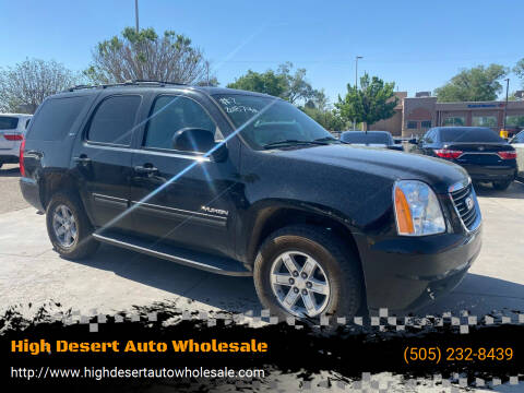 2013 GMC Yukon for sale at High Desert Auto Wholesale in Albuquerque NM