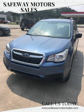 2017 Subaru Forester for sale at Safeway Motors Sales in Laurinburg NC