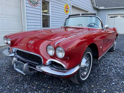 1962 Chevrolet Corvette for sale at Right Pedal Auto Sales INC in Wind Gap PA