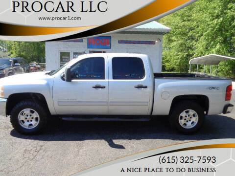 2012 Chevrolet Silverado 1500 for sale at PROCAR LLC in Portland TN