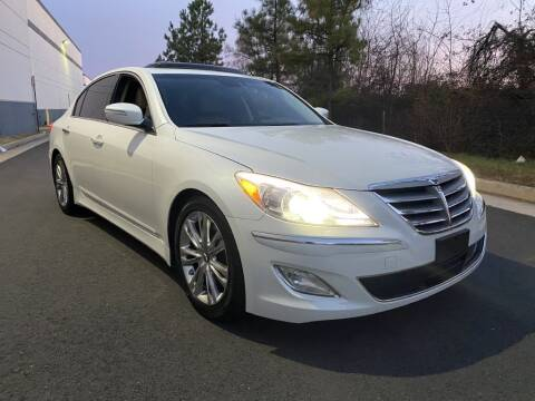 2012 Hyundai Genesis for sale at PM Auto Group LLC in Chantilly VA