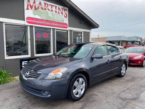 2007 Nissan Altima for sale at Martins Auto Sales in Shelbyville KY