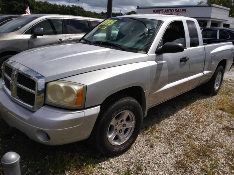 2006 Dodge Dakota for sale at Tony's Auto Sales in Jacksonville FL