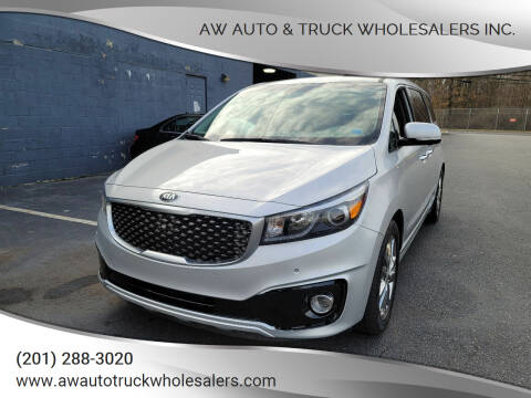 2018 Kia Sedona for sale at AW Auto & Truck Wholesalers  Inc. in Hasbrouck Heights NJ