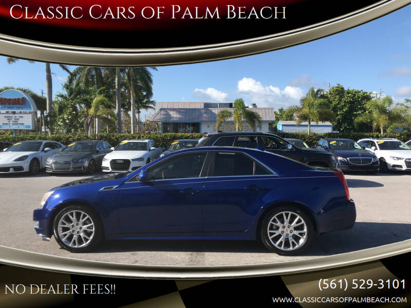 2012 Cadillac CTS for sale at Classic Cars of Palm Beach in Jupiter FL