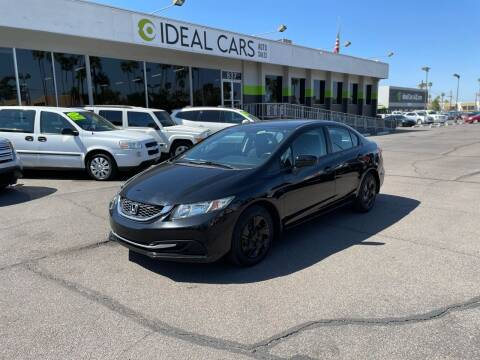 2014 Honda Civic for sale at Ideal Cars Broadway in Mesa AZ