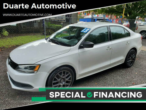 2013 Volkswagen Jetta for sale at Duarte Automotive in Jacksonville FL