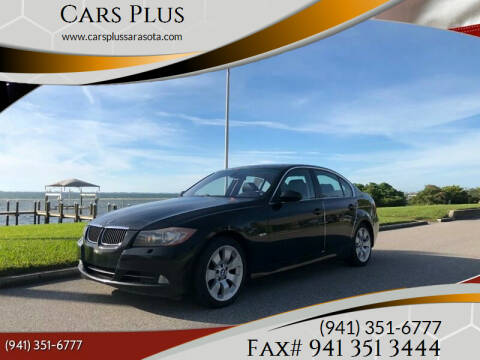 2006 BMW 3 Series for sale at Cars Plus in Sarasota FL