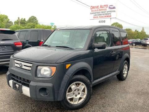 2007 Honda Element for sale at Drive Auto Sales & Service, LLC. in North Charleston SC