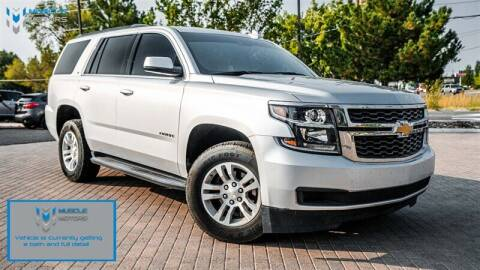 2019 Chevrolet Tahoe for sale at MUSCLE MOTORS AUTO SALES INC in Reno NV