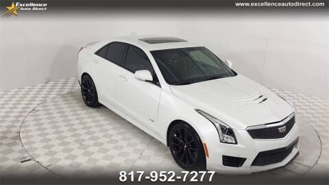 2017 Cadillac ATS-V for sale at Excellence Auto Direct in Euless TX