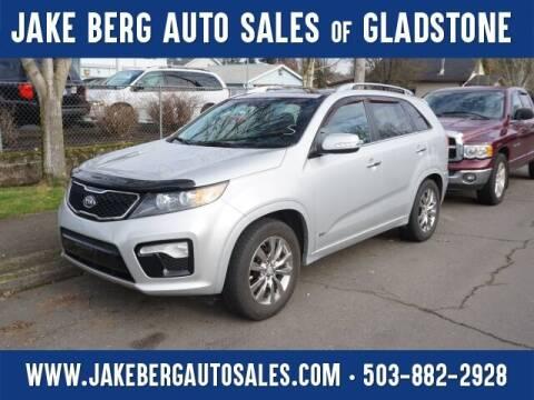 2012 Kia Sorento for sale at Jake Berg Auto Sales in Gladstone OR