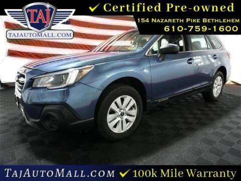 2018 Subaru Outback for sale at Taj Auto Mall in Bethlehem PA