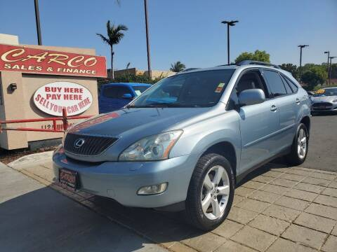 2005 Lexus RX 330 for sale at CARCO SALES & FINANCE #3 in Chula Vista CA