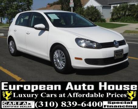 2013 Volkswagen Golf for sale at European Auto House in Los Angeles CA
