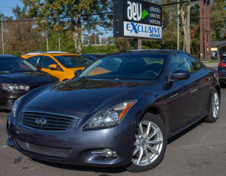 2013 Infiniti G37 Coupe for sale at EXCLUSIVE MOTORS in Virginia Beach VA