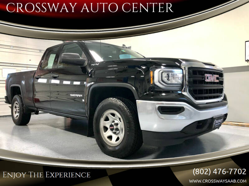 2017 GMC Sierra 1500 for sale at CROSSWAY AUTO CENTER in East Barre VT