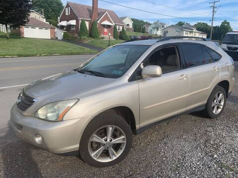 2006 Lexus RX 400h for sale at Trocci's Auto Sales in West Pittsburg PA