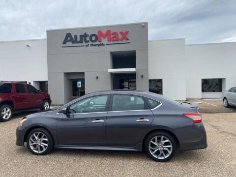 2013 Nissan Sentra for sale at AutoMax of Memphis - Alex Vivas in Memphis TN