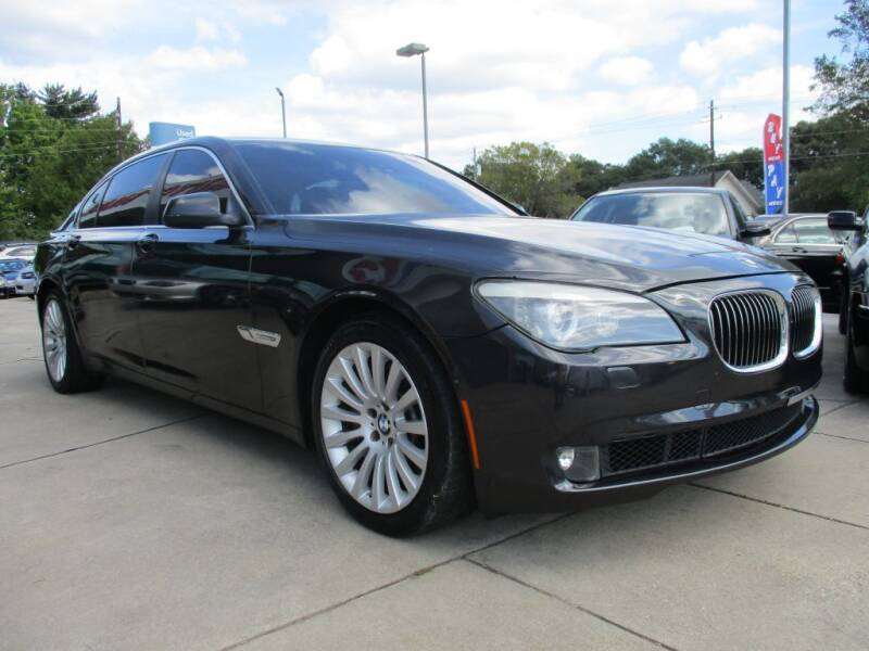 2012 BMW 7 Series for sale at Pars Auto Sales Inc in Stone Mountain GA