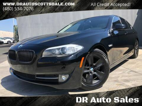 2013 BMW 5 Series for sale at DR Auto Sales in Scottsdale AZ