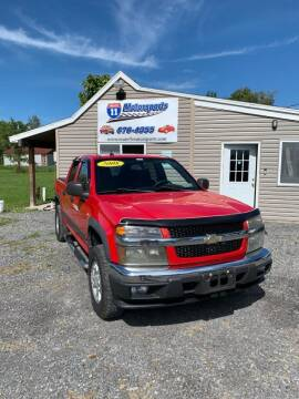 2008 Chevrolet Colorado for sale at ROUTE 11 MOTOR SPORTS in Central Square NY