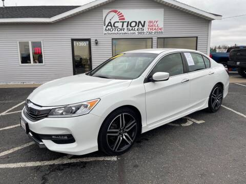 2017 Honda Accord for sale at Action Motor Sales in Gaylord MI