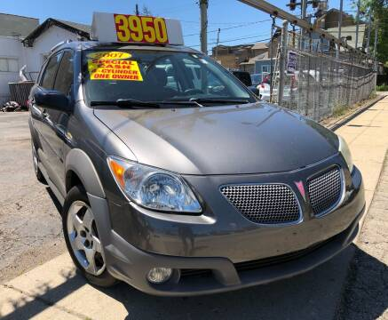 2007 Pontiac Vibe for sale at Jeff Auto Sales INC in Chicago IL