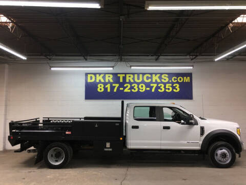 2017 Ford F-550 Super Duty for sale at DKR Trucks in Arlington TX