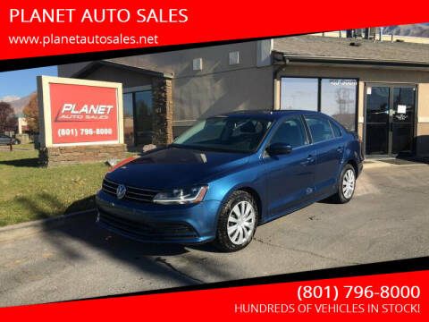 2017 Volkswagen Jetta for sale at PLANET AUTO SALES in Lindon UT