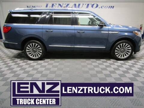 2020 Lincoln Navigator L for sale at LENZ TRUCK CENTER in Fond Du Lac WI