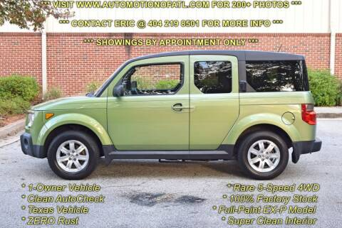 2006 Honda Element for sale at Automotion Of Atlanta in Conyers GA