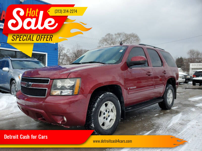 2007 Chevrolet Tahoe for sale at Detroit Cash for Cars in Warren MI