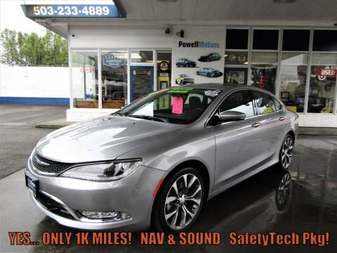 2015 Chrysler 200 for sale at Powell Motors Inc in Portland OR